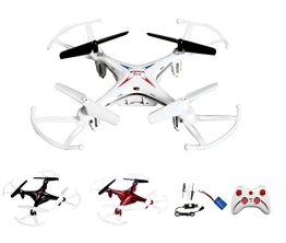 4-Kanal 2.4GHz RC ferngesteuerter mini Explorers Quadcopter PRO, Headless-Technik, Rotorenschutz, 6-axis Gyro, 3D Loopings, Komplett-Set inkl. Ersatzteil-Set - 1