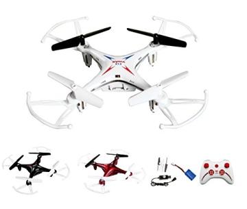 4-Kanal 2.4GHz RC ferngesteuerter mini Explorers Quadcopter PRO, Headless-Technik, Rotorenschutz, 6-axis Gyro, 3D Loopings, Komplett-Set inkl. Ersatzteil-Set - 1
