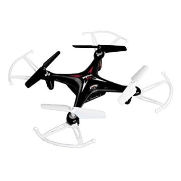 4-Kanal 2.4GHz RC ferngesteuerter mini Explorers Quadcopter PRO, Headless-Technik, Rotorenschutz, 6-axis Gyro, 3D Loopings, Komplett-Set inkl. Ersatzteil-Set - 3