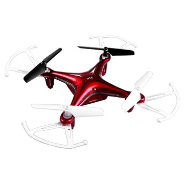4-Kanal 2.4GHz RC ferngesteuerter mini Explorers Quadcopter PRO, Headless-Technik, Rotorenschutz, 6-axis Gyro, 3D Loopings, Komplett-Set inkl. Ersatzteil-Set - 4