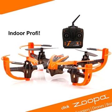 ACME - zoopa Q 155 roonin Quadro | von gutmütig bis rasant | inkl. 2,4GHz Fernsteuerung | Licht | 360° Flipfunktion | 3 Geschwindigkeiten (ZQ0155) | Lieferung aus Deutschland - 1