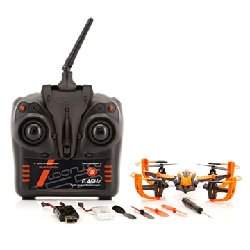 ACME - zoopa Q 155 roonin Quadro | von gutmütig bis rasant | inkl. 2,4GHz Fernsteuerung | Licht | 360° Flipfunktion | 3 Geschwindigkeiten (ZQ0155) | Lieferung aus Deutschland - 2