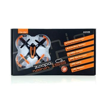ACME - zoopa Q 155 roonin Quadro | von gutmütig bis rasant | inkl. 2,4GHz Fernsteuerung | Licht | 360° Flipfunktion | 3 Geschwindigkeiten (ZQ0155) | Lieferung aus Deutschland - 3