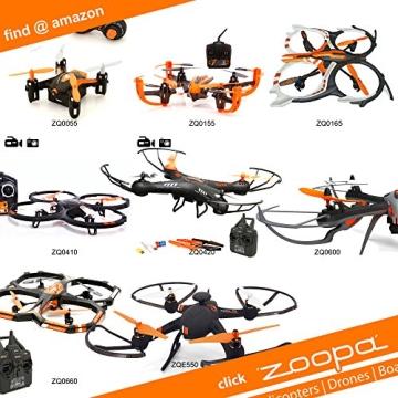 ACME - zoopa Q 155 roonin Quadro | von gutmütig bis rasant | inkl. 2,4GHz Fernsteuerung | Licht | 360° Flipfunktion | 3 Geschwindigkeiten (ZQ0155) | Lieferung aus Deutschland - 7