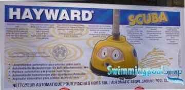 Automatischer Pool Bodensauger Magic Scuba Poolroboter - 4