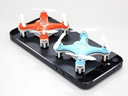BlueBeach Mini Quadrocopter CX10 4x4cm 4 Kanal 2,4GHz 3D Ufo Drohne Gyro (Blau) - 1