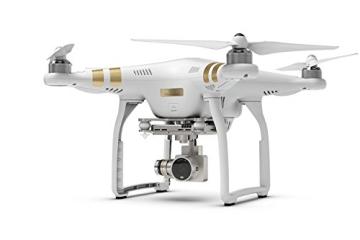DJI Phantom 3 Professional UAV Aerial Quadrocopter Drohne mit Integrierter 4K Kamera und Gimbal zur Bildstabilisierung - Weiß/Gold - 5