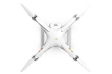 DJI Phantom 3 Professional UAV Aerial Quadrocopter Drohne mit Integrierter 4K Kamera und Gimbal zur Bildstabilisierung - Weiß/Gold - 6