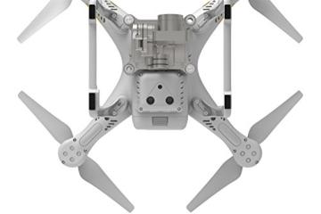 DJI Phantom 3 Professional UAV Aerial Quadrocopter Drohne mit Integrierter 4K Kamera und Gimbal zur Bildstabilisierung - Weiß/Gold - 7
