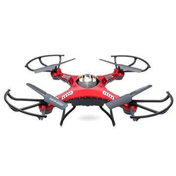 HB HOMEBOAT® JJRC H8D 6-Achsen Gyro 2,4 GHz RTF RC Quadcopter Drohne mit Kamera + FPV-Monitor Video Live-Übertragung Headless Modus - 3