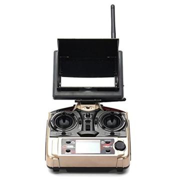HB HOMEBOAT® JJRC H8D 6-Achsen Gyro 2,4 GHz RTF RC Quadcopter Drohne mit Kamera + FPV-Monitor Video Live-Übertragung Headless Modus - 6