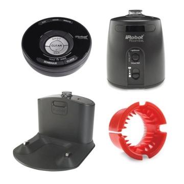 iRobot Roomba 581 Staubsaug-Roboter / Funkfernbedienung  / Programmierfunktion  /  Extra Bürtstenset / 3 Virtuelle Leuchttürme  / Testurteil GUT (Testmagazin 06/2010) - 3