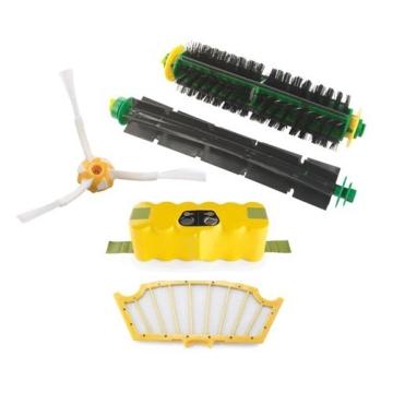 iRobot Roomba 581 Staubsaug-Roboter / Funkfernbedienung  / Programmierfunktion  /  Extra Bürtstenset / 3 Virtuelle Leuchttürme  / Testurteil GUT (Testmagazin 06/2010) - 4