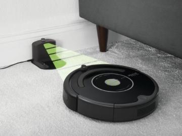 iRobot Roomba 581 Staubsaug-Roboter / Funkfernbedienung  / Programmierfunktion  /  Extra Bürtstenset / 3 Virtuelle Leuchttürme  / Testurteil GUT (Testmagazin 06/2010) - 6
