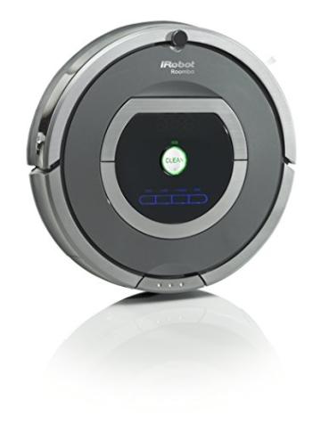 iRobot Roomba 782 Staubsaug-Roboter (30 Watt, XLife Akku, 7 Programmzeiten) grau - 2