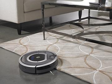 iRobot Roomba 782 Staubsaug-Roboter (30 Watt, XLife Akku, 7 Programmzeiten) grau - 5