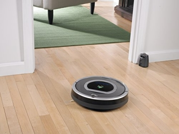 iRobot Roomba 782 Staubsaug-Roboter (30 Watt, XLife Akku, 7 Programmzeiten) grau - 9