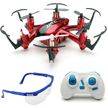 JJRC H20 nano Hexacopter mini kleine RC Quadrocopter Drone 2.4G 4CH 6 Achsen Headless Modus Aircraft LED Lichter mit Zubehör Kits Flugzeug Spielzeug (Rot) - 1