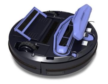 MamiRobot KF5 Roboter Staubsauger Kapazität 500 ml, vino - 6