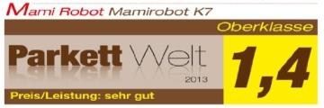 MamiRobot KF5 Roboter Staubsauger Kapazität 500 ml, weiß - 9