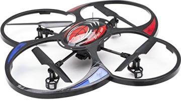 MikanixX Spirit X009 RC Quadrocopter inkl. Kamera - 2,4Ghz mit 6 Achsen Technik 3D, RTF - 1