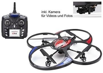 MikanixX Spirit X009 RC Quadrocopter inkl. Kamera - 2,4Ghz mit 6 Achsen Technik 3D, RTF - 3