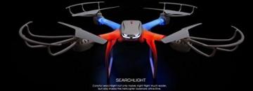MJX X101 von FM-electrics | XXL - Quadrocopter mit Wifi FPV Kamera in HD und riesen Reichweite, Mit Headless-Mode und One-Key Return, Sonderedition mit Fernsteuerung für Mode 1-4, Looping-Funktion, mit C4010 Wlan Kamera in HD - 2