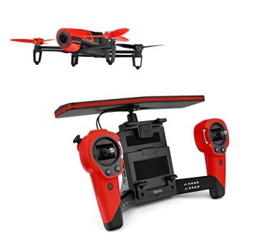 Parrot Bebop Drohne + Parrot Skycontroller rot - 1