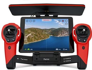 Parrot Bebop Drohne + Parrot Skycontroller rot - 6