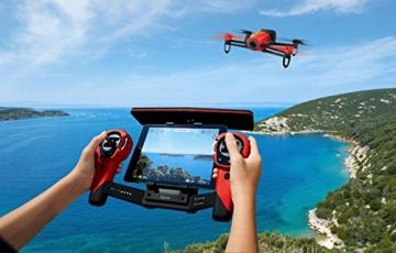 Parrot Bebop Drohne + Parrot Skycontroller rot - 8