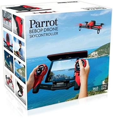 Parrot Bebop Drohne + Parrot Skycontroller rot - 9