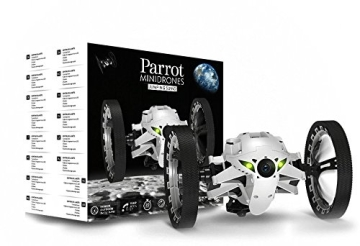Parrot Jumping Sumo Minidrone (WiFi, Wide Angled Kamera) weiß - 7