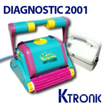 Pool Roboter Dolphin Diagnostic 2001 - 1