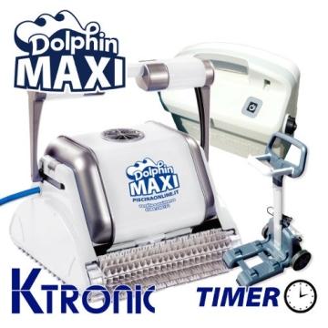 Pool Roboter dolphin maytronics Maxi M-Line Ktronic Timer - 1
