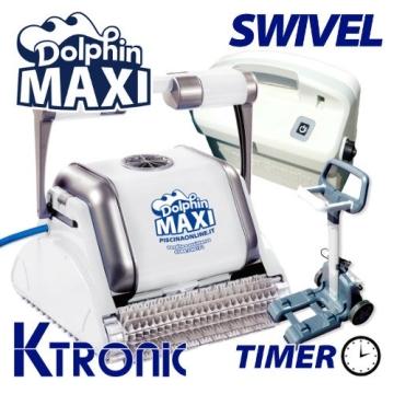 Pool Roboter dolphin maytronics Maxi M-Line mit Timer und Swivel - 1