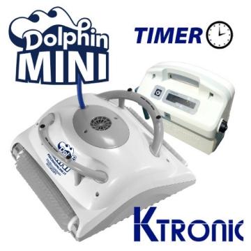 Pool Roboter dolphin maytronics Mini M-Line Ktronic Timer - 1