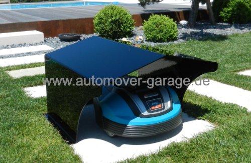 rasenroboter garage standard schwarz roboter f r haus und garten. Black Bedroom Furniture Sets. Home Design Ideas