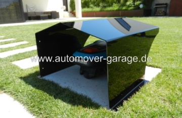 rasenroboter garage standard schwarz roboter f r haus und garten. Black Bedroom Furniture Sets. Home Design Ideas