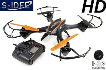 s-idee 01217 Quadrocopter U842 HD KAMERA 4.5 Kanal 2.4 Ghz Drohne mit Gyroscope Technik Akkuwarner - 1