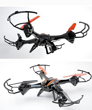 s-idee 01217 Quadrocopter U842 HD KAMERA 4.5 Kanal 2.4 Ghz Drohne mit Gyroscope Technik Akkuwarner - 2