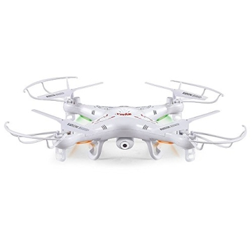 SYMA X5C Quadrocopter Drohne Weiß 2,4Ghz mit HD Kamera 3D Fernbedienung + Ersatzakku - 2