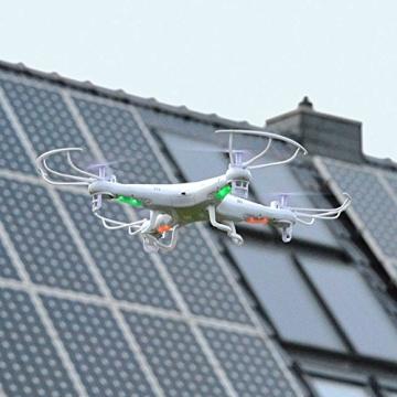 SYMA X5C Quadrocopter Drohne Weiß 2,4Ghz mit HD Kamera 3D Fernbedienung + Ersatzakku - 5
