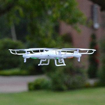 SYMA X5C Quadrocopter Drohne Weiß 2,4Ghz mit HD Kamera 3D Fernbedienung + Ersatzakku - 6