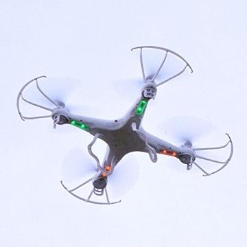 SYMA X5C Quadrocopter Drohne Weiß 2,4Ghz mit HD Kamera 3D Fernbedienung + Ersatzakku - 7