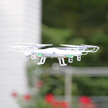 SYMA X5C Quadrocopter Drohne Weiß 2,4Ghz mit HD Kamera 3D Fernbedienung + Ersatzakku - 8