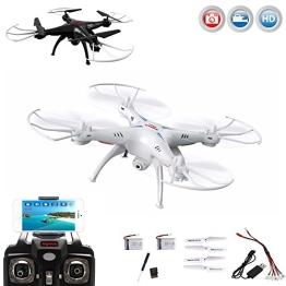 X5SW PRO-Edition FPV Kamera Wifi Live Übertragung RC ferngesteuerter Quadrocopter,Mega-Set,RTF - 1