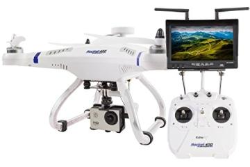 XciteRC 15001500 - Ferngesteuerter RC Quadrocopter Rocket 400 FPV GPS - RTF Drohne Mode 2 - 1
