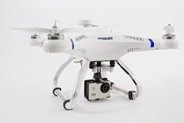 XciteRC 15001500 - Ferngesteuerter RC Quadrocopter Rocket 400 FPV GPS - RTF Drohne Mode 2 - 6