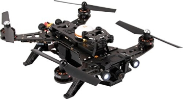 XciteRC 15003600 - FPV Racing-Quadrocopter Runner 250 RTF - FPV-Drohne mit HD Kamera, Akku, Ladegerät und Devo 7 Fernsteuerung - 1